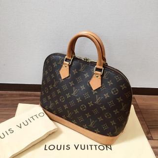 LOUIS VUITTON - 【美品 保存袋付き】正規品 ルイヴィトン アルマ ハンドバッグ モノグラム