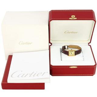カルティエ(Cartier)のカルティエ マストタンク ヴェルメイユSM クォーツ(腕時計)