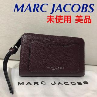 マークジェイコブス(MARC JACOBS)のマークジェイコブズ 未使用 革折財布 美品 グッチ コーチ プラダ 好きに(財布)