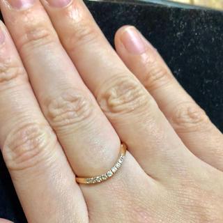BLOOM - BLOOM ブルーム ピンクゴールド 925 リング 指輪