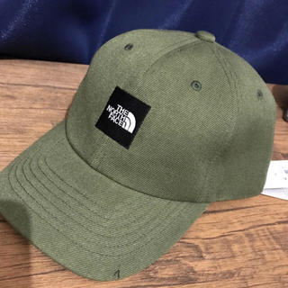 THE NORTH FACE - ノースフェイス ロゴキャップ帽 カーキ