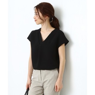 Demi-Luxe BEAMS - Demi-Luxe BEAMS☆Vネック重ねブラウス