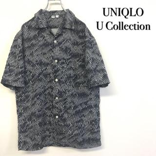 美品 UNIQLO U Collection 総柄シャツ