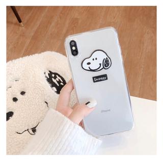 スヌーピー(SNOOPY)の★新品 送料無料★スヌーピーのiPhone XR用ケース(iPhoneケース)