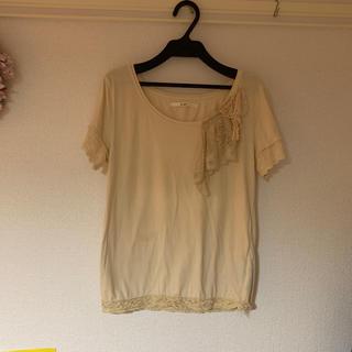 ファーファー(fur fur)のレースTシャツ(Tシャツ(半袖/袖なし))