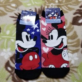 Disney - ミッキーマウス+ミニーマウス ソックス