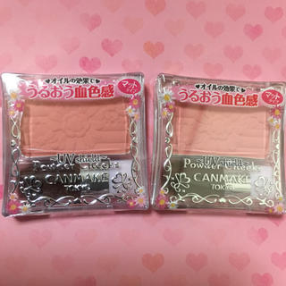 CANMAKE - キャンメイク パウダーチークス PW33