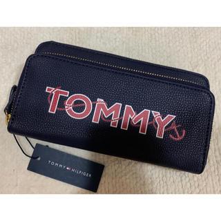 TOMMY HILFIGER - 新品 トミーヒルフィガー スマホ収納可能 長財布