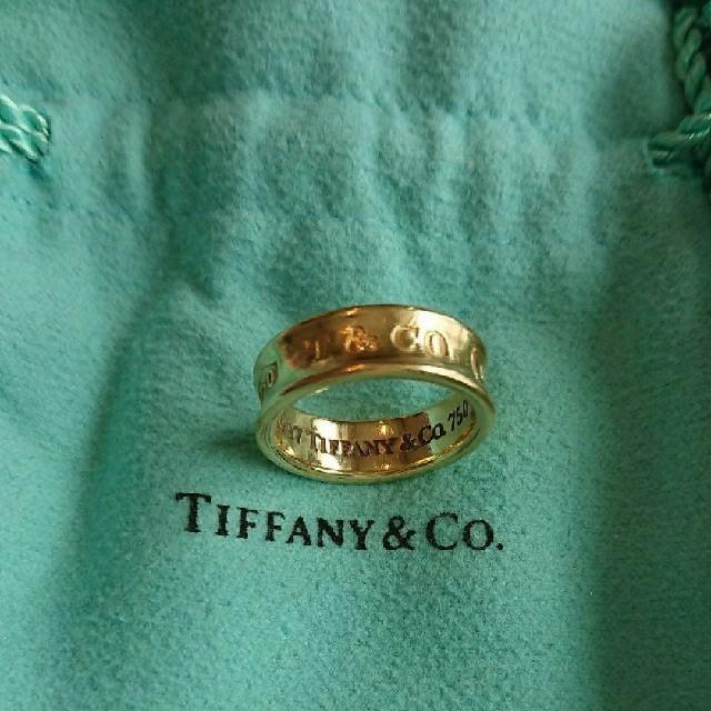 Tiffany & Co.(ティファニー)のティファニー 18K 1837 リング レディースのアクセサリー(リング(指輪))の商品写真