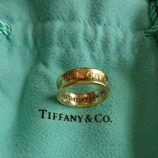 ティファニー(Tiffany & Co.)のティファニー 18K 1837 リング(リング(指輪))