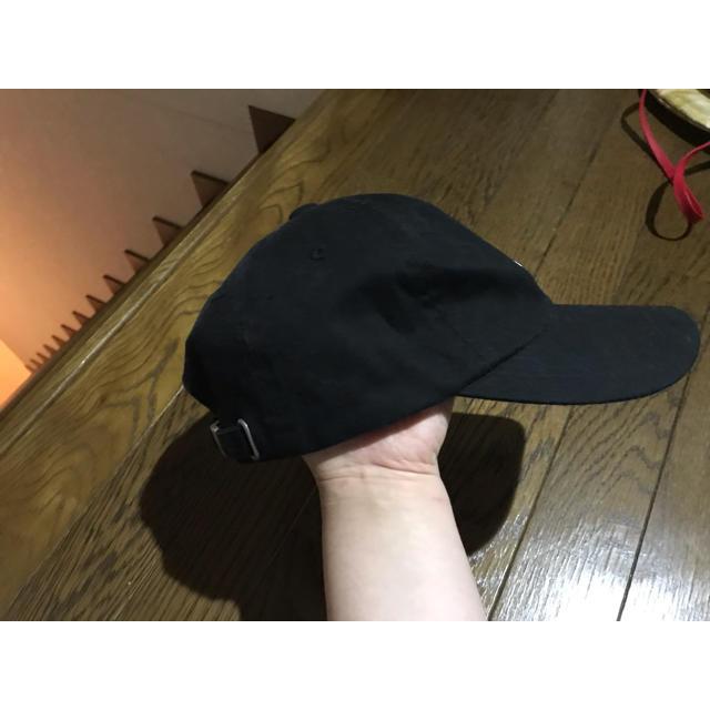 moussy(マウジー)のMOUSSY ロゴキャップ 黒 レディースの帽子(キャップ)の商品写真