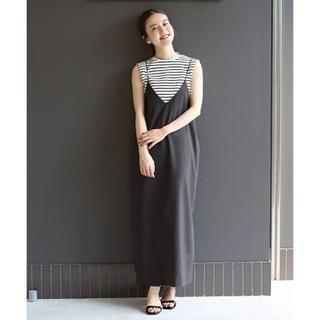 IENA - 新品タグ付 IENA 2019AW メランジ キャミワンピース 36
