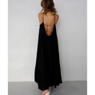 ALEXIA STAM - アリシアスタン Summer Maxi Dress ギャザーサマーマキシドレス