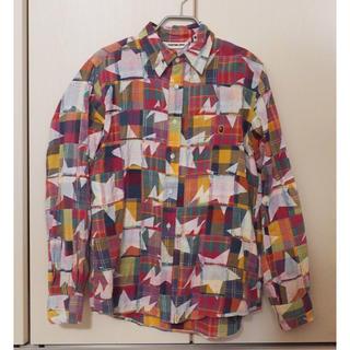 A BATHING APE - エイプ パッチワークシャツ