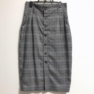 しまむら - チェックタイトスカート