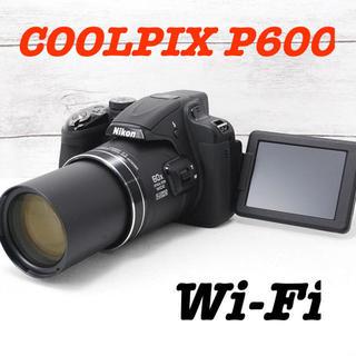 Nikon - ★大迫力60倍ズーム★Wi-Fi搭載★Nikon COOLPIX P600