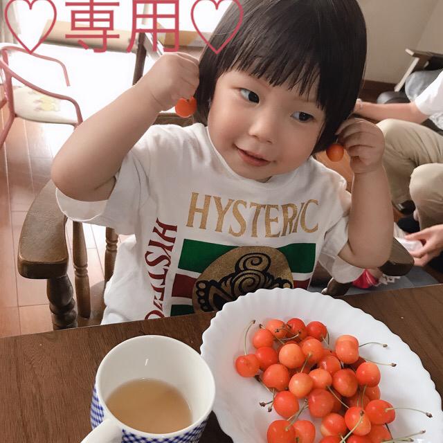 HYSTERIC MINI(ヒステリックミニ)の専用 キッズ/ベビー/マタニティのキッズ服 男の子用(90cm~)(Tシャツ/カットソー)の商品写真