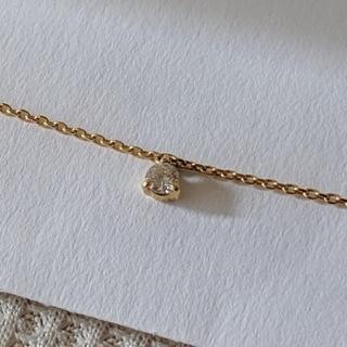ポンテヴェキオ(PonteVecchio)のポンテヴェキオ 10K 0.07ctダイヤモンド ブレスレット(ブレスレット/バングル)