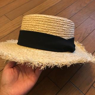 フリークスストア(FREAK'S STORE)のフリークスストア カンカン帽(麦わら帽子/ストローハット)