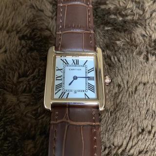 カルティエ(Cartier)のカルティエ 腕時計 レディース メンズ(腕時計)