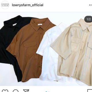 ローリーズファーム(LOWRYS FARM)のショートCPOシャツ(シャツ/ブラウス(半袖/袖なし))