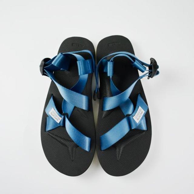 新品/本物☆SUICOKE CHIN2 OG-023-2 サンダル BLUE17 レディースの靴/シューズ(サンダル)の商品写真