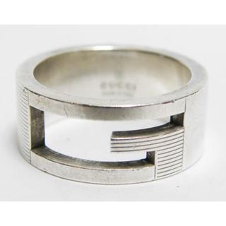 グッチ(Gucci)のGUCCIグッチ リング 指輪 Gロゴ 10号 SV925 良品 正規品(リング(指輪))