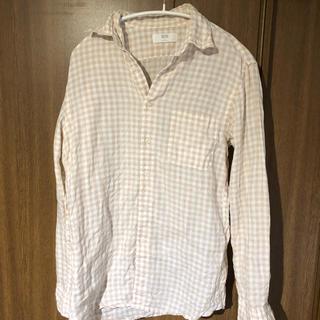 ユニクロ(UNIQLO)の【美品】1度着用のみ ユニクロリネンシャツ / メンズS(シャツ)