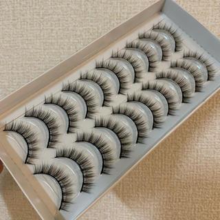 再入荷♥軸しっかりめ♥ナチュラル毛束感 3Dミンクまつげ 10ペアバリューパック