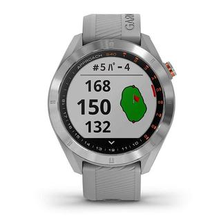 GARMIN - グレー:GARMIN(ガーミン) ゴルフナビ GPS Approach S40
