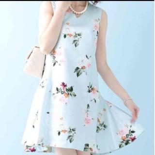 チェリーアン(cherry Ann)の夏物セール!【Cherry Ann】花柄ワンピース(ミニワンピース)