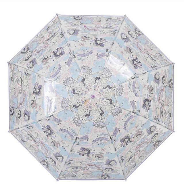 Disney(ディズニー)の【一点のみ】アラジン ジーニー   ジャスミン ビニール傘 アンブレラ レディースのファッション小物(傘)の商品写真