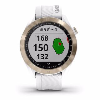 ガーミン(GARMIN)のホワイト:GARMIN(ガーミン) ゴルフナビ GPS Approach S40(その他)