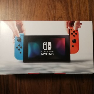 Nintendo Switch - 【新品未使用!】nintendo switch!