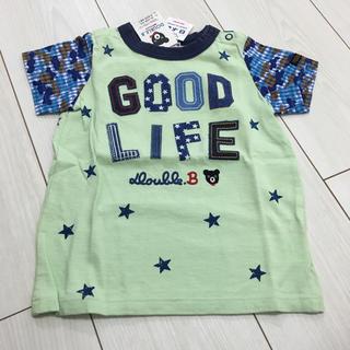 DOUBLE.B - 新品未使用♡ダブルB 半袖Tシャツ