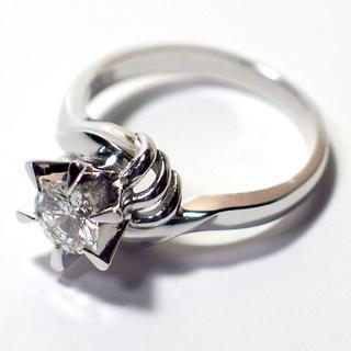プラチナダイヤモンドリング ダイヤ 指輪 婚約リング ダイヤモンド