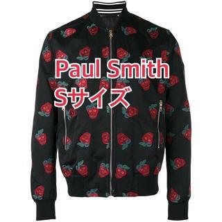 Paul Smith - 新品 Sサイズ ポールスミス ジャケット ストロベリースカル 黒 ブルゾン