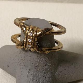 1021 シルバーリング 石付き 925(リング(指輪))