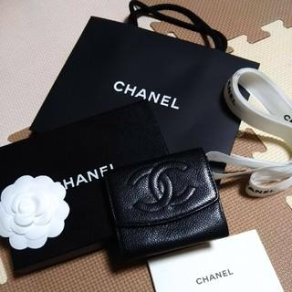 CHANEL - CHANEL キャビアスキンコインケース
