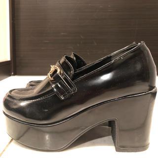 ウィゴー(WEGO)のWEGO 厚底ローファー(ローファー/革靴)