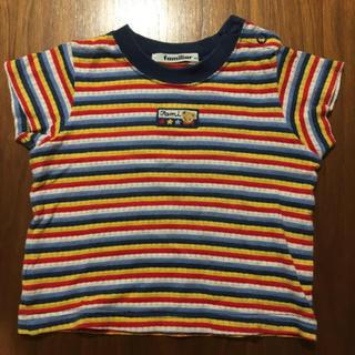 familiar - familiar Tシャツ 80cm
