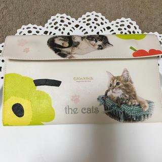 マリメッコ(marimekko)のマルチケース  子猫とマリメッコ柄(雑貨)