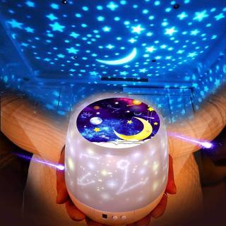 ★人気★ベッドサイドランプ LEDナイトライト プラネタリウム家庭用