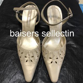 baisers sellectin パンプス サンダル(ハイヒール/パンプス)