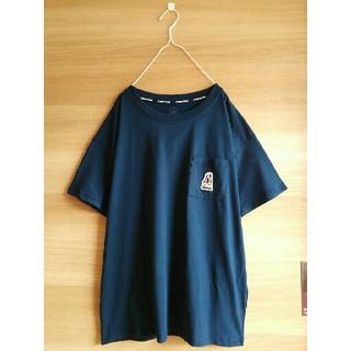 コンバース(CONVERSE)の新品CONVERSE*半袖Tシャツ*未使用コンバース*送料無料*ブランド紺M(Tシャツ(半袖/袖なし))