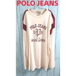 ラルフローレン(Ralph Lauren)のラルフローレン POLO JEANS ポロジーンズ ビッグサイズロンT(Tシャツ/カットソー(七分/長袖))