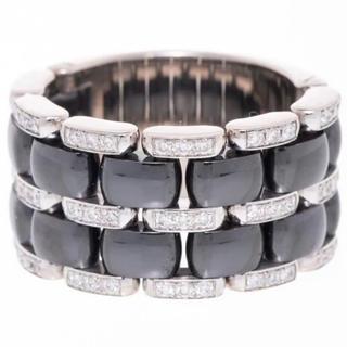 シャネル(CHANEL)のシャネルウルトラコレクションリング指輪ダイヤ#54定価70万超 中古美品(リング(指輪))