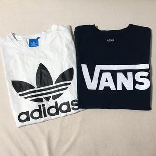 adidas - adidas vans Tシャツ