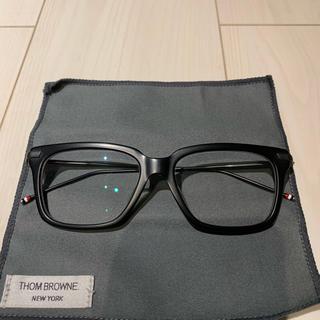 トムブラウン(THOM BROWNE)のTHOM BROWNE メガネ 眼鏡 美中古 阪急メンズ館購入(サングラス/メガネ)