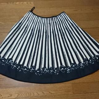 M'S GRACY - エムズグレイシー  薔薇スカート  40